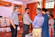 Visit of Additional Commissioner Varanasi